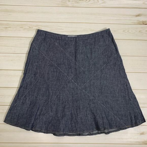 CAbi Dresses & Skirts - Denim a-line skirt by CAbi